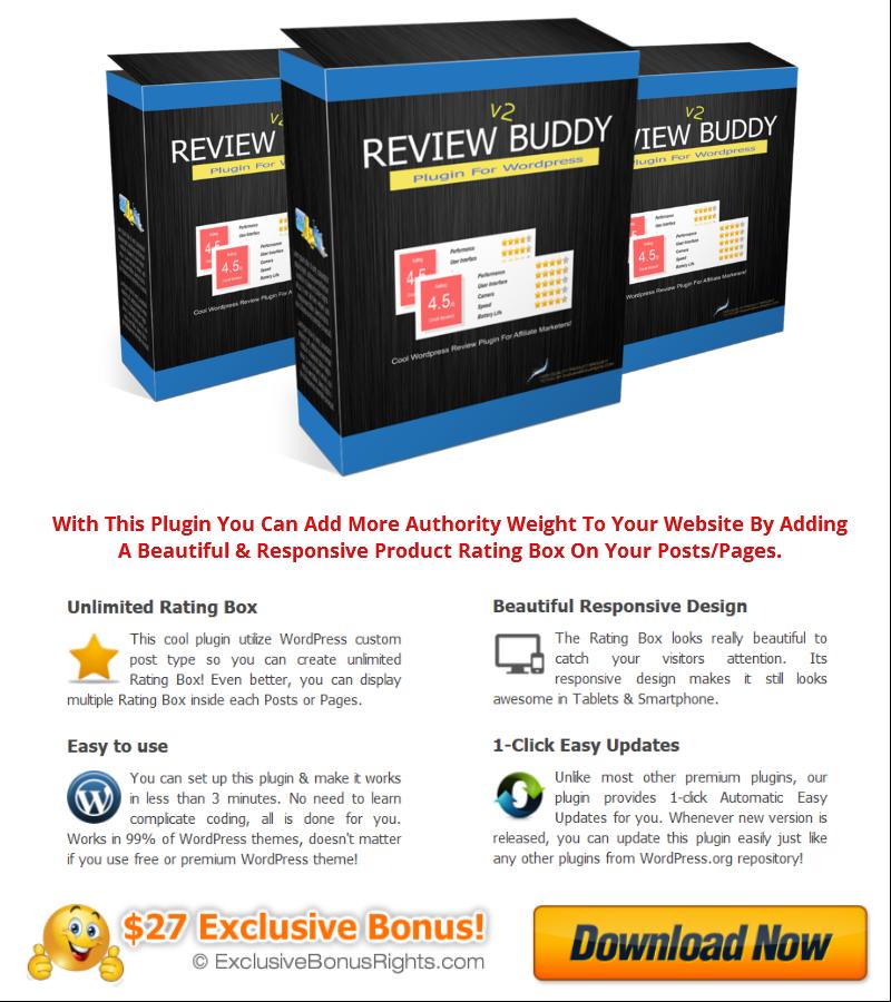 Image - WP ReviewBuddy v2