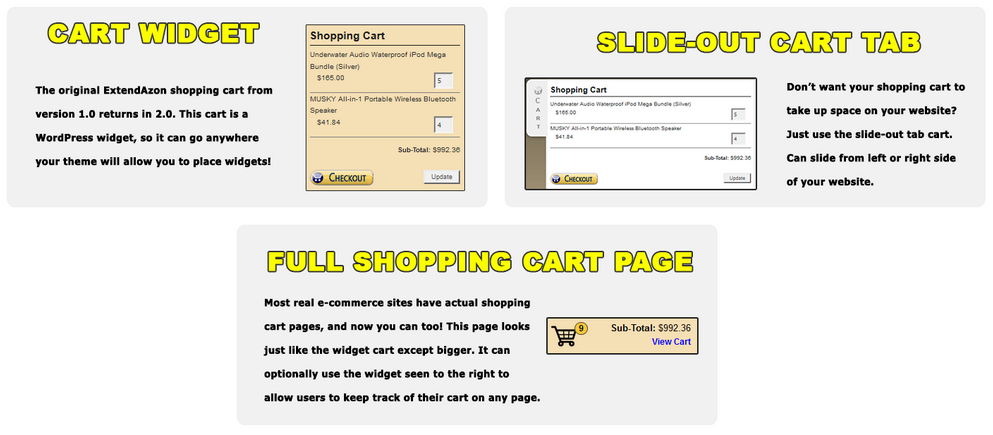 Image - ExtendAzon Cart Designs